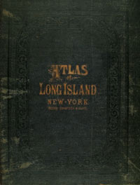 cover of book, Atlas pf Long Island